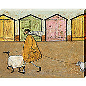 Sam Toft Along The Prom Canvas Print