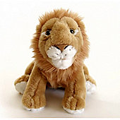 Zoocational Press, Play & Learn 'Leon The Lion' 8 Inch Soft Toys