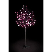 Snowtime 2-Size Globe Tree - Shocking Pink - 150 cm H
