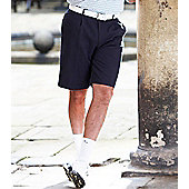 Stromberg Mens Easy Care Classic Golf Shorts - Navy