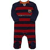 FC Barcelona Baby Kit Sleepsuit - 2015/16 Season - Red