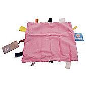 Snoozebaby Comforter - Elephant Pink