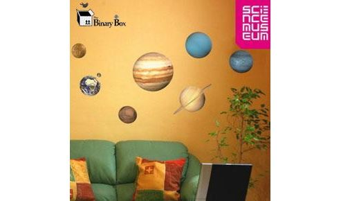 Science Museum Planet Wall Stickers