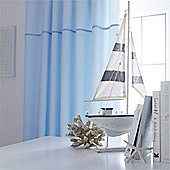 Izziwotnot Blue Gift Tab Top Curtains