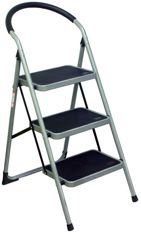 Lamboro Barstools 3 Tread Step Stool Ladder