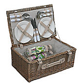 Wicker Valley 4 Person Hamper