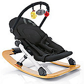 Concord Rio Baby Rocker with Toy Bar (Black)