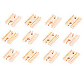Bigjigs Rail BJT104 Mini Track Female/Female (Pack of 12)