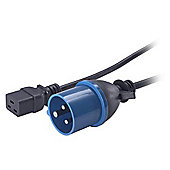 APC Power Cord (16A 230V C19 to IEC 309)