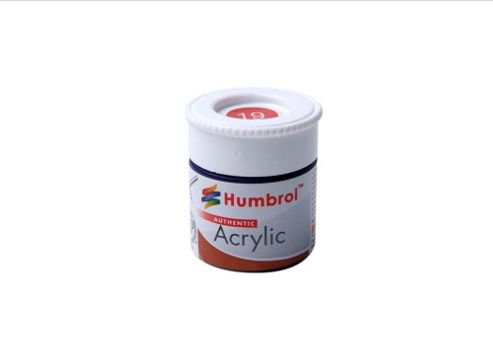 Humbrol Acrylic - 14ml - Gloss - No19 - Red