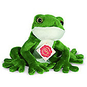 Teddy Hermann 15cm Frog Plush Soft Toy