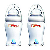 Munchkin 240ml/8oz Latch Bottle (Pack of 2)