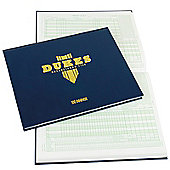 Dukes Cricket Hardback Scoring book 100 Innings