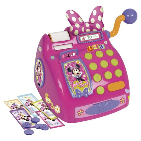 Minnie Mouse Non Electric Cash Register