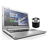 "Lenovo IdeaPad 500 80NT0066UK 15.6"" Laptop With ACME Mini Portable Speaker"