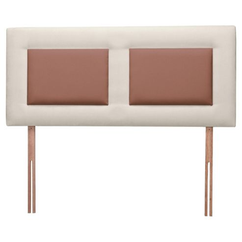 Venice Headboard, Cream Outer with Chocolate Inner, Kingsize