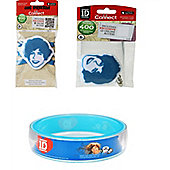 One Direction Harry Bundle, 1 Bangle, 1 Keyring And 1 Shoelace 3 Item Bundle