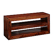 Indian Hub Cube Sheesham TV Stand