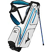 Mizuno Mens Aerolite Micro 6 Golf Bag (Stand) in White