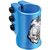 Madd Gear HotHead Oversized Triple Collar Scooter Clamp - Blue