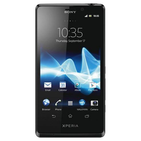 SIM Free Unlocked Sony Xperia™ T Black
