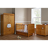 Tiny Tatty Teddy Premium 4 Piece Furniture Set - Country Pine