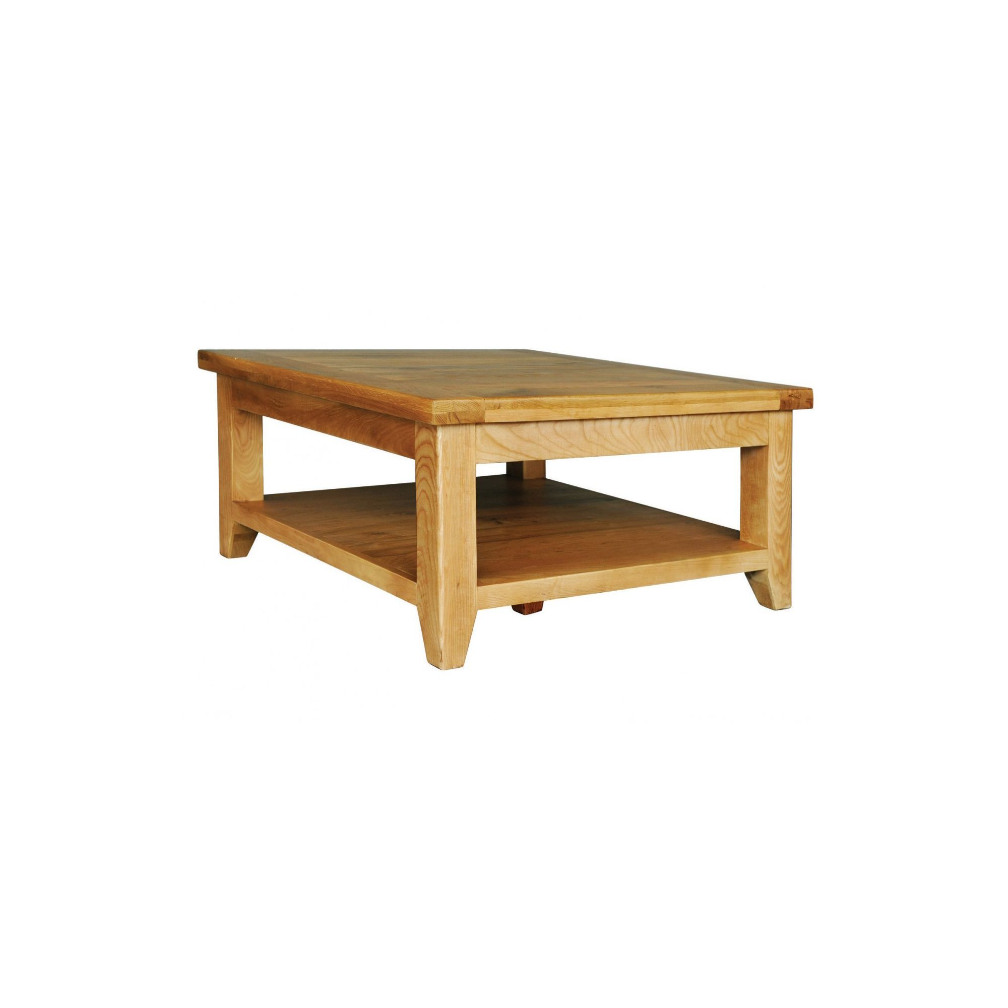 Hawkshead Calgary Square Coffee Table with Shelf at Tesco Direct