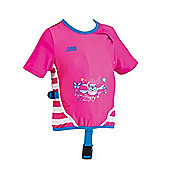 Zoggs Inflatable Swimfree Swim Jacket 4-5 Years - Pink
