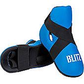 Blitz - PU Semi Contact Foot Protector - Blue