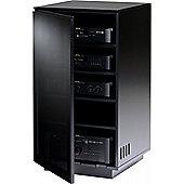 BDI MIRAGE 8222 Black Luxury Hi-Fi Cabinet