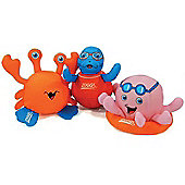 Zoggs Zoggy Soakers Pk of 3