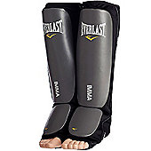 Everlast MMA Shin Guards Slip-on - Grey