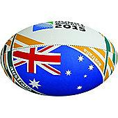 RWC 2015 Australia Flag Ball - SZ 5