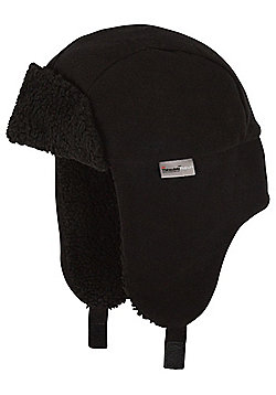 "F&F Fleece Lined Trapper Hat with Thinsulateâ""¢ - Black"