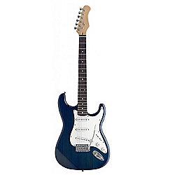 Rocket S300-TB S Standard Electric Guitar - Trans Blue