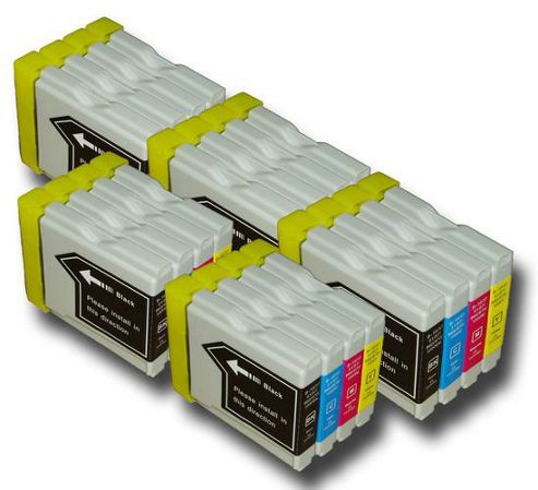 20 Compatible Brother LC970 Ink Cartridges-MFC/DCP Printers