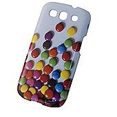 Tortoise™ Look Hard Case iPhone 4/4S Snake Fabric Purple