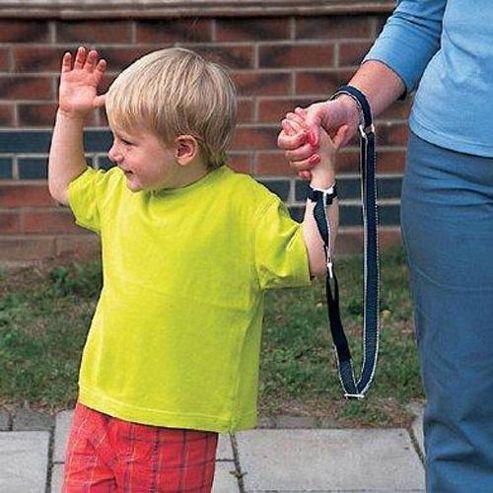 Clippasafe Wrist Link Navy White