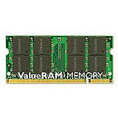 Kingston ValueRAM 2GB (1x2GB) 667MHz DDR2 SDRAM Unbuffered Non-ECC CL5 SODIMM Memory