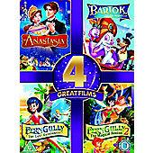 Anastasia/Bartok/Ferngully/Ferngully 2Gully/Ferngully 2 (DVD Boxset)