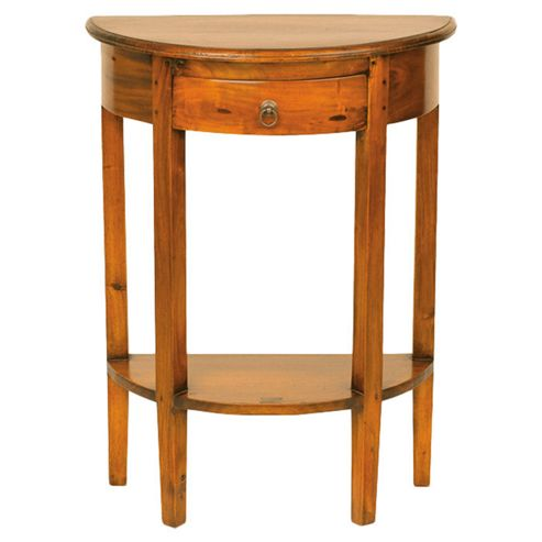 Aspect Design by Wayfair Mahogany Village Half Round Console Table