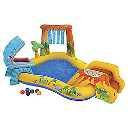 Intex Dinosaur Inflatable Water Play Centre