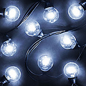 20 Galaxy Globe Ice White LED Lights