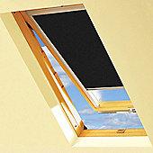 Black Blackout Roller Blinds For VELUX Windows (UK08)
