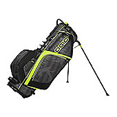 Ogio Mens Ozone Golf Bag (Stand) in White & Charcoal
