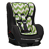 OBaby Group 0-1 Combination Car Seat (ZigZag Lime)