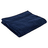 Tesco Hygro 100% Cotton Bath Towel, Navy