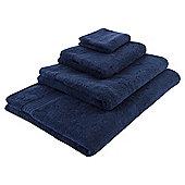 Tesco Hygro 100% Cotton Bath Towel, Navy