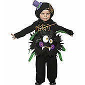 Crazy Spider - Toddler Costume 3-4 years