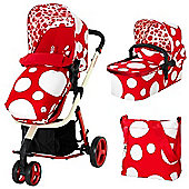 Cosatto Giggle 3-in-1 Combi (Red Bubble)